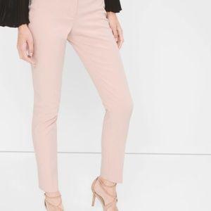White House Black Market Slim Ankle Pant - Pink 2R